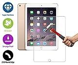 ZeWoo Display Glas Panzerfolie für Apple iPad Air 2 (2nd generation, iPad 6) Glasfolie Hartglas Schutzfolie 9H *2.5D, nur 0,33mm dünn