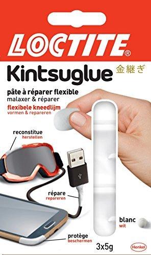 Loctite 2275663kintsuglue pate modellabile, bianco