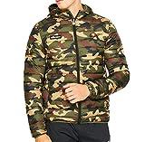 ellesse Jacke Herren LOMPARDY Padded Jacket Camouflage Camo Print, Größe:XL
