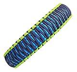 Hundehalsband Sassy-2 aus Paracord, Zugstopper oder Klickverschluß, Individuelle Größe, 3 Farben frei Kombinierbar, 4 Zentimeter breit