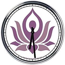 Reloj de pared Yoga 6