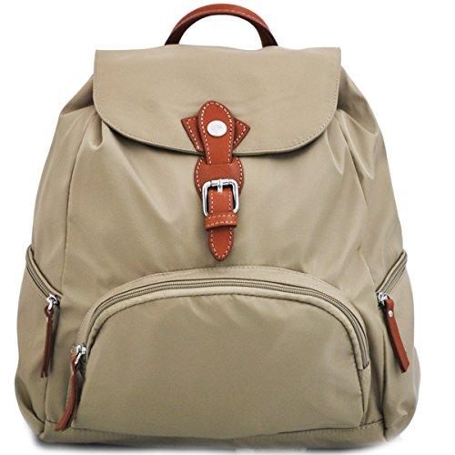 46bbf3d3acb Katana - Bolso mochila para mujer Beige beige 28 x 36 x 18 cm
