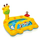 #5: Intex Smiley Inflatable Giraffe Baby Pool, 44