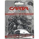 Carta Sport - Borchie da rugby unisex, in alluminio, 21 mm, confezione da 16