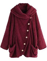 TITAP 2018 Fashion Women Hoodie Long Sleeve Solid Fluffy Fleece Fur Outerwear Winter Warm Sweatshirt Coat S-5XL