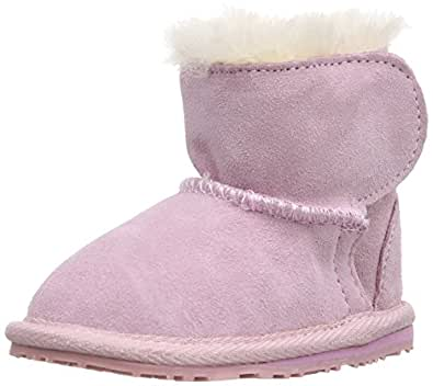 Emu Unisex-Baby Toddle First Walking Shoes B10737 Pink 6-12 Months, 16 EU, Regular