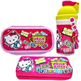 Hello Kitty Combo Kids School Combo Set For Children Of Age 3 To 8 Years   Includes Lunch Box, Water Bottle & Pencil Box   BPA Free   Certified Safe As Per European Safety Standards ( EN71 )   Imported Premium Quality   Multi Color