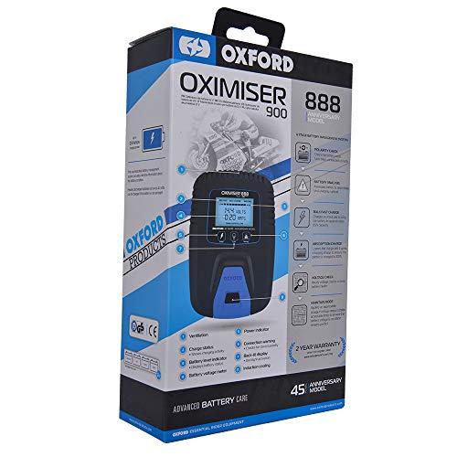 OF570AV - Oxford Oximiser 900 Battery Charger UK Anniversary Editio