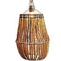 lampara madera: Handmade - Amazon.es