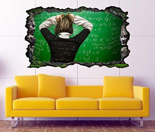 3D Wandtattoo Azteken Ruinen Lehre Schule Lehrer Weisheit Bild selbstklebend Wandbild sticker Wand Aufkleber 11F1182, Wandbild Größe F:ca. 162cmx97cm