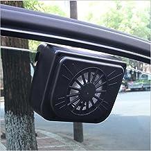 YCRD Ventilador De Automóvil Solar Ventilador De Automóvil De Ventilación Interior Ventilador De Enfriamiento Automático Ventilador