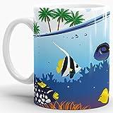 Tasse mit Aquaristik-Motiv/Fisch-Motiv/Kaffeetasse/Teetasse/Mug/Cup/Beste Qualität - 25 Jahre Erfahrung