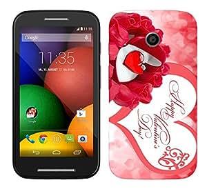 WOW Printed Designer Mobile Case Back Cover For Motorola Moto E (1st Gen)