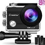 Best Action Cameras - Crosstour Action Camera 4K Wi-Fi Ultra HD Underwater Review