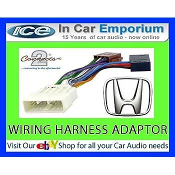 Hyundai Coupe CD radio stereo wiring harness adapter: Amazon ... on