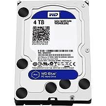 """WD Blue - Disco duro para ordenadores de sobremesa de 4 TB (5400 rpm, SATA a 6 Gb/s, 64 MB de caché, 3,5"""") azul"""