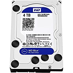Wd Blue 4tb Interne Festplatte (8,9 Cm (3,5 Zoll)), Sata 6 Gbs Bulk Wd40ezrz