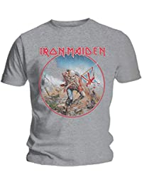 Rockoff Trade Men's Iron Maiden Trooper Vintage T-Shirt