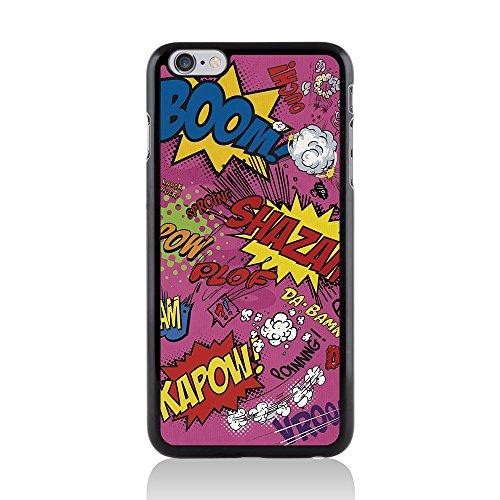 Apple iPhone 6 Plus/6s Plus Comic Capers Coque arrière rigide/Coque par Call Candy Kapow Pink