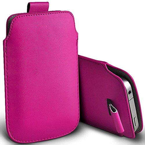 Holly Leder (ONX3 (Pink) Huawei Honor Holly 3 Fall Slip In Zug-Vorsprung-Leder-Beutel-Kasten-Abdeckung)
