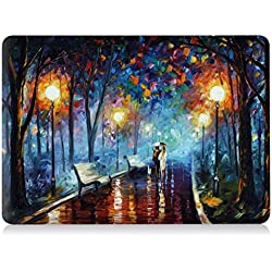 "Go Crazzy Macbook Air 13"" 13.3 Inch New Art Fashion Image Series Ultra Slim Light Weight Rubberized Hard Case Cover for MacBook Air 13 Inch Shell Cover Case + Get Silicone Keyboard Cover +LCD Screen Protector +12pcs Dust plug + Touchpad Protector for Macbook Air 13.3""-Fits Model A1369 / A1466"