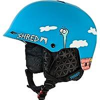 Shred Half Brain D-Lux The Guy - Casco de esquí unisex, color azul, talla XS-M