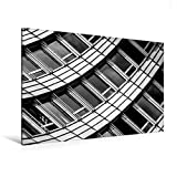 Premium Textil-Leinwand 120 cm x 80 cm quer, Zürich, WTC   Wandbild, Bild auf Keilrahmen,...