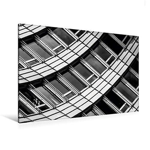 Premium Textil-Leinwand 120 cm x 80 cm quer, Zürich, WTC | Wandbild, Bild auf Keilrahmen,...
