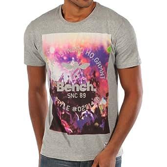 Bench Herren Langarmshirt T-Shirt Club Crowd grau (Grey Marl) Large