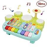 ANIKI TOYS Intelligenza Musicale Cubo di attività Play Center Toy con Piano Forme Labirinto Ingranaggi Orologio Gioco educativo e abilità Giocattoli educativi