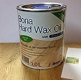 Bona Hartwachsöl 1 Liter seidenmatt - silkmatt, Hard Wax Oil