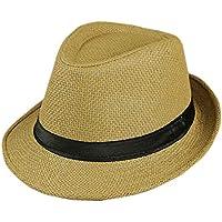 Sunbohljfjh El Mismo Sombrero, Cinta, Sombrero de algodón. Gorra británica. Sombrero de Jazz. Sombrero. 56 * 58 cm.