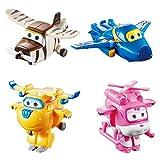 Alpha Animation & Toys Super Wings Transform-a-Bots 4pk vehículo de Juguete - Vehículos de Juguete, 4 año(s), 9 año(s), Niño/niña, Interior, 60 mm
