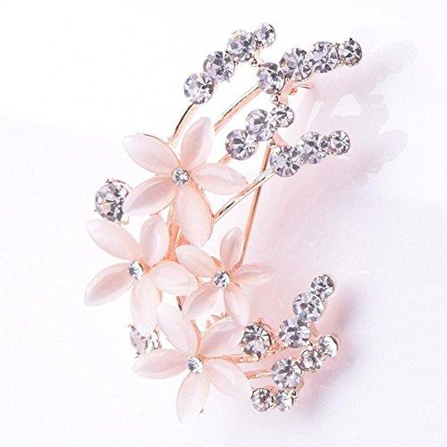 ein Brosche Lady Diamond Flower Corsage Hochzeit Pin (Diamond Womens Kostüme)
