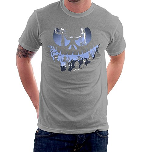 A Lovely Nightmare Before Christmas Jack Skellington Halloween Men's T-Shirt