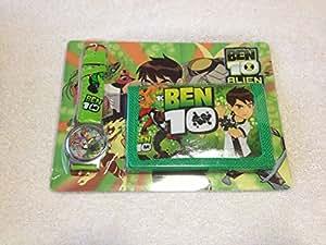 Ben 10 Children's Watch Wallet Set For Kids Children Boys Girls Great Christmas Gift Gifts Present - Sold by Happy Bargains Ltd