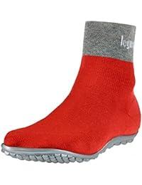leguano Classic Rot | Barfußschuhe | Die Barfuß-Socken für Kinder, Damen und Herren