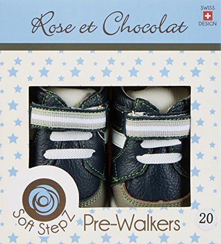 Rose & Chocolat Star Trainer, Chaussures Marche Bébé Garçon Bleu Marine