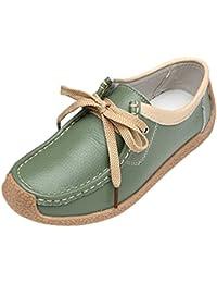 Yuncai Sommer Niedlich Blumen Einfach Damen Wohnungen Schuhe Weich Wasserdicht Bootsschuhe Weiß 36