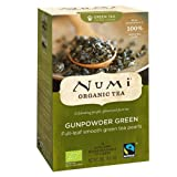 Numi Organic Gunpowder Green - Temple of Heaven 18 Beutel, 3er Pack (3 x 36 g) -...