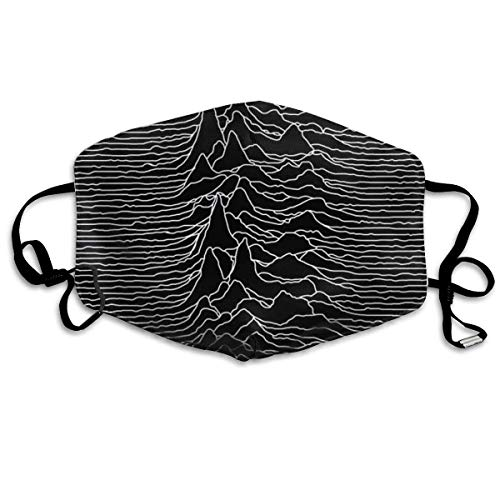 Preisvergleich Produktbild HUSDFS Mouth Maske Unknown Radio Waves - Unknown Pleasures Anti Dust Face Mouth Cover Mask Respirator Cotton Protective Face Safety Warm Windproof Mask