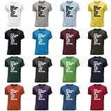 STUFF4 Herren/Rundhals T-Shirt/Old Hondas/Honda Never Die/CS
