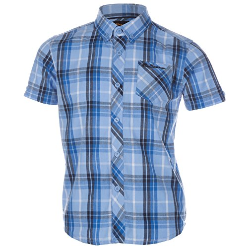 boys-ben-sherman-infant-boys-check-shirt-in-blue-5-6