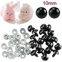 Sicherheitsaugen für Stofftiere Safety-Eyes for Teddy´s 18 mm schwarz