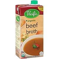 Alimentos Pacífico - Caldo de carne de vaca orgánico - 32 oz.
