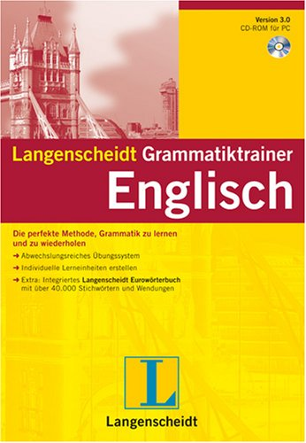 Langenscheidt Grammatiktrainer Englisch