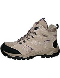 Ladies Charlotte totalmente impermeable senderismo/senderismo cordones Trainer botas