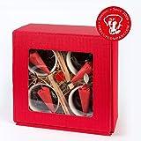 Original FeuerzangenTassen. 4er Box. DAS TassenFeuer!