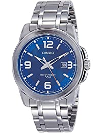 Casio Enticer Men Analog Blue Dial Watch-MTP-1314D-2AVDF (A551)