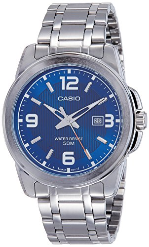 casio enticer analog blue dial men's watch - mtp-1314d-2avdf (a551) Casio Enticer Analog Blue Dial Men's Watch – MTP-1314D-2AVDF (A551) 51fByo1ezGL